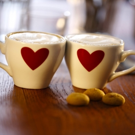 "Add Whimsy To Your Valentine's Day Gift With A ""We Go Together Like…"" Mug Set"